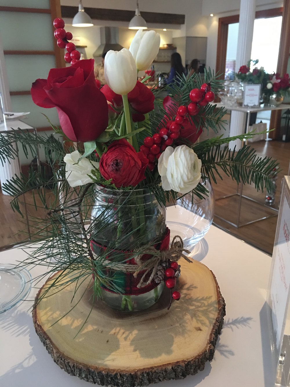 Holiday Floral Arrangement - B Floral
