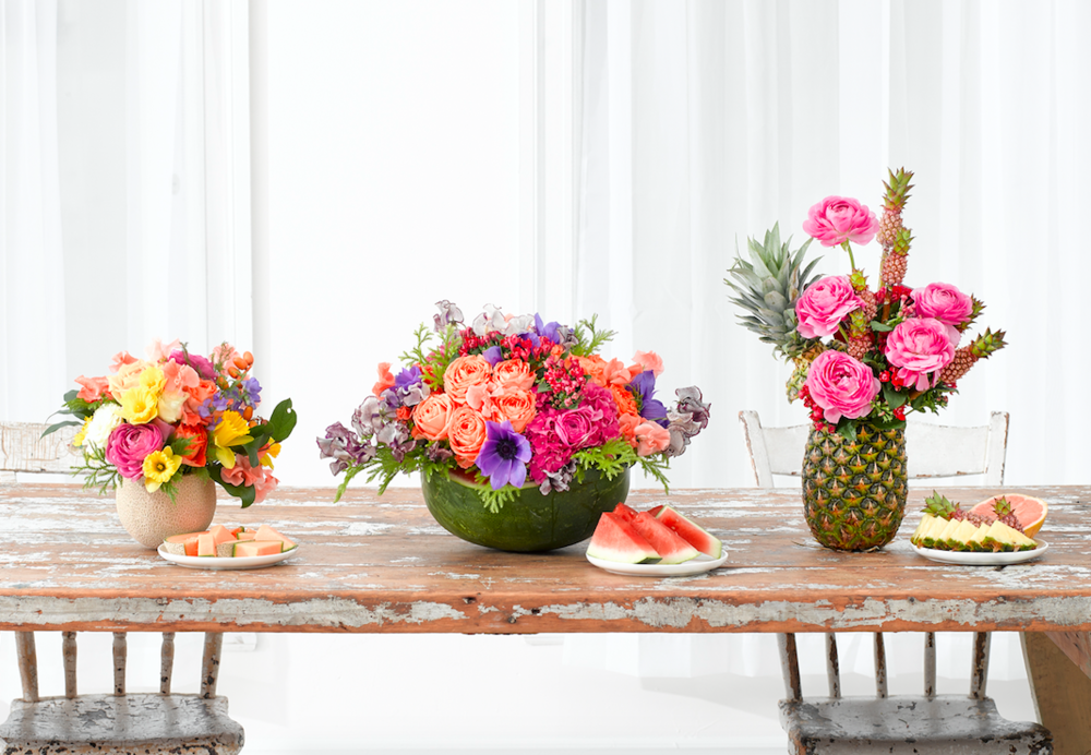 Fruits With Florals - B Floral