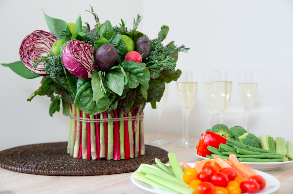 Vegetable Floral Arrangement - B Floral