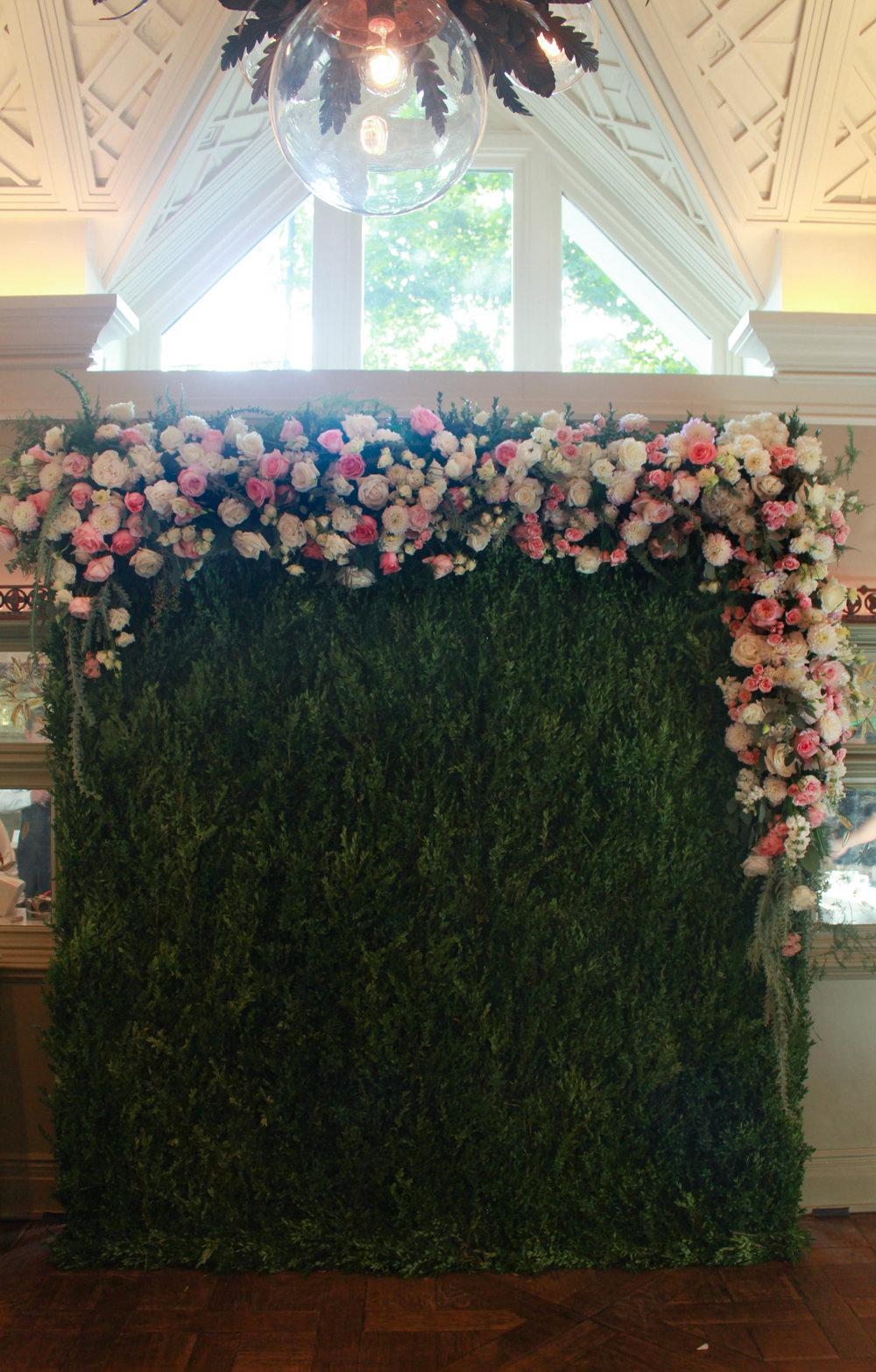 NBC Flower Wall - B Floral