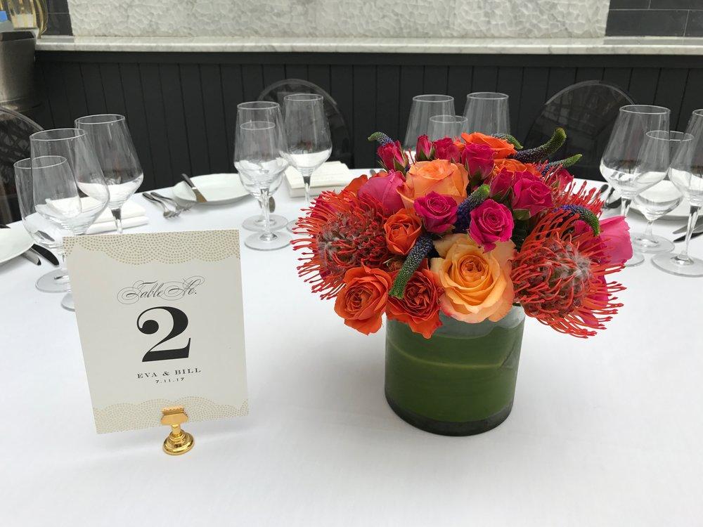 Rooftop Wedding Reception
