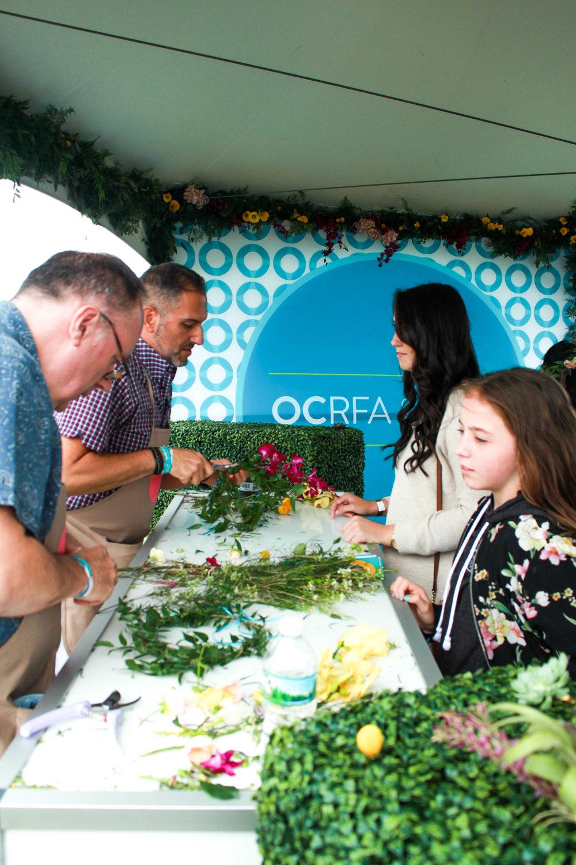 OCRFA Flower Station - B Floral
