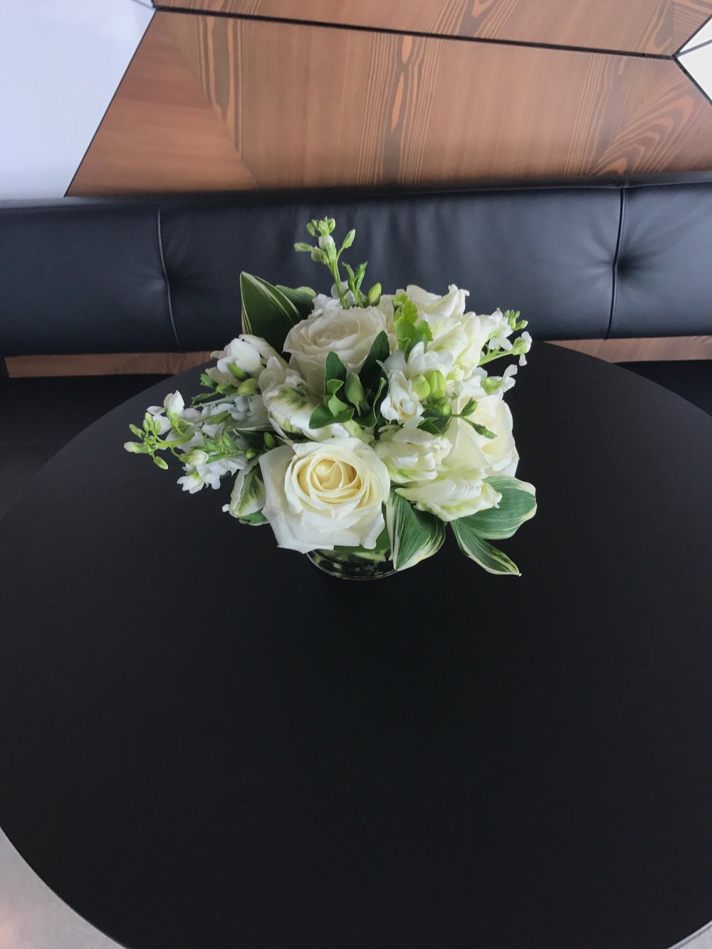 Cream Colored Flowers - B Floral