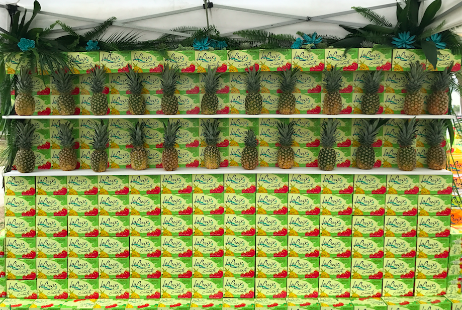 LaCroix Pineapple Installation - B Floral