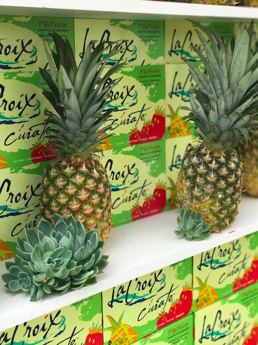 LaCroix Pineapple - B Floral