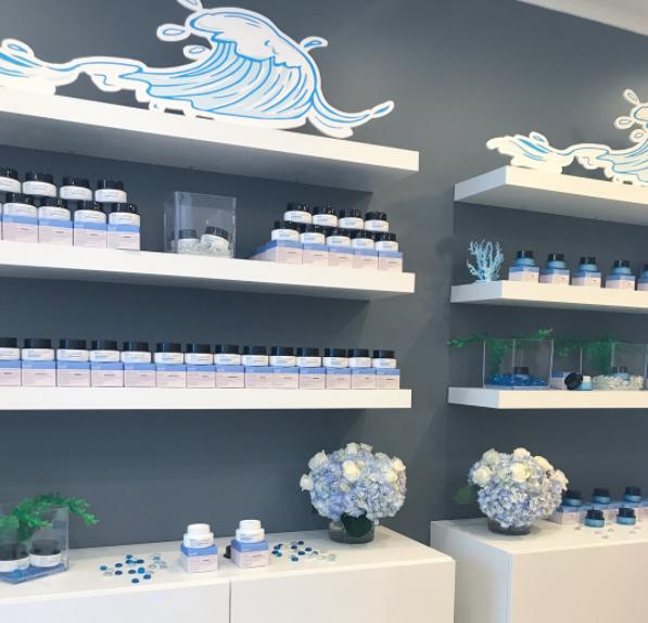 Belif Launch Baby Blue Florals - B Floral