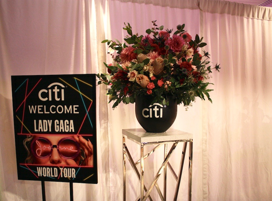 Lady Gaga VIP Lounge Flowers - B Floral