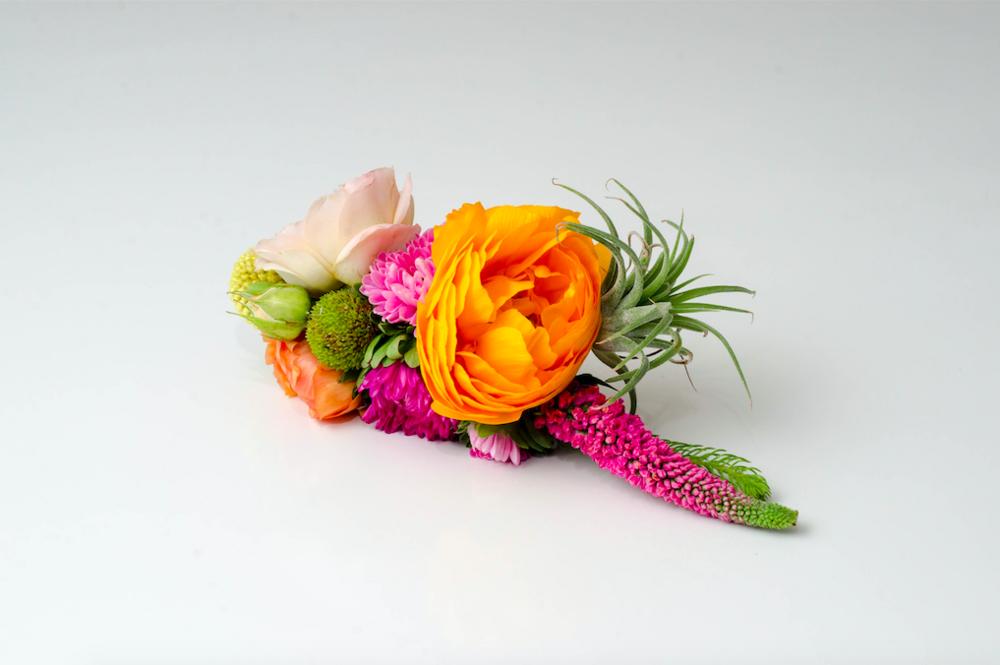 Colorful Floral Barrette - B Floral