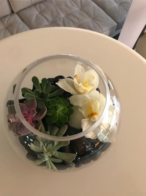 Circular Vase - B Floral