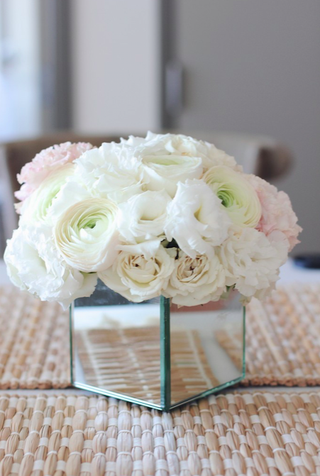 Classic White Flowers - B Floral