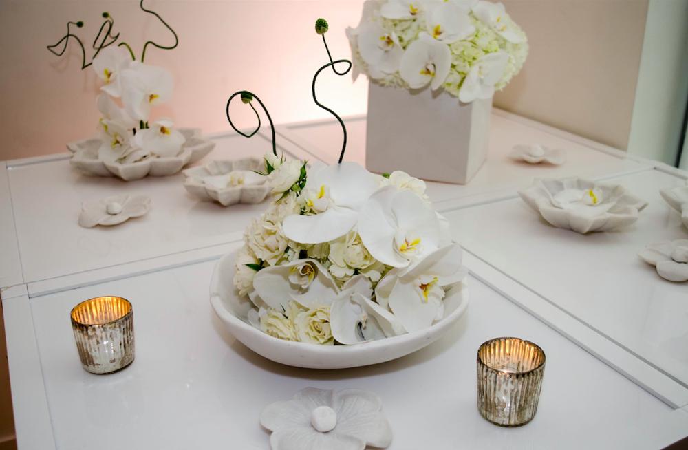 White Floral Centerpiece - B Floral