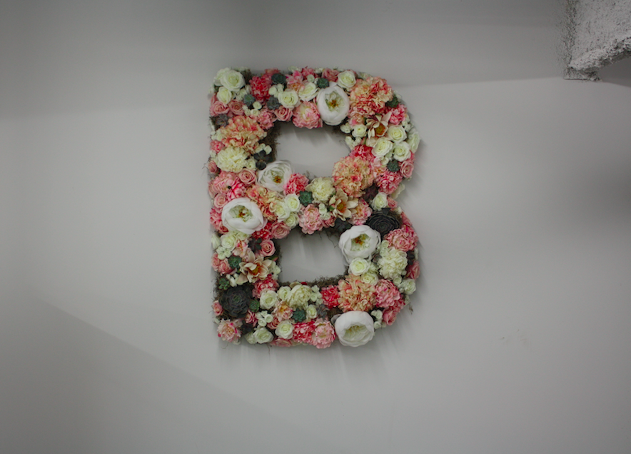 Bluefly Pop-Up Shop Floral Display - B Floral