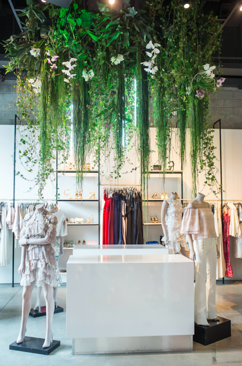 Fashion Boutique Floral Installation - B Floral