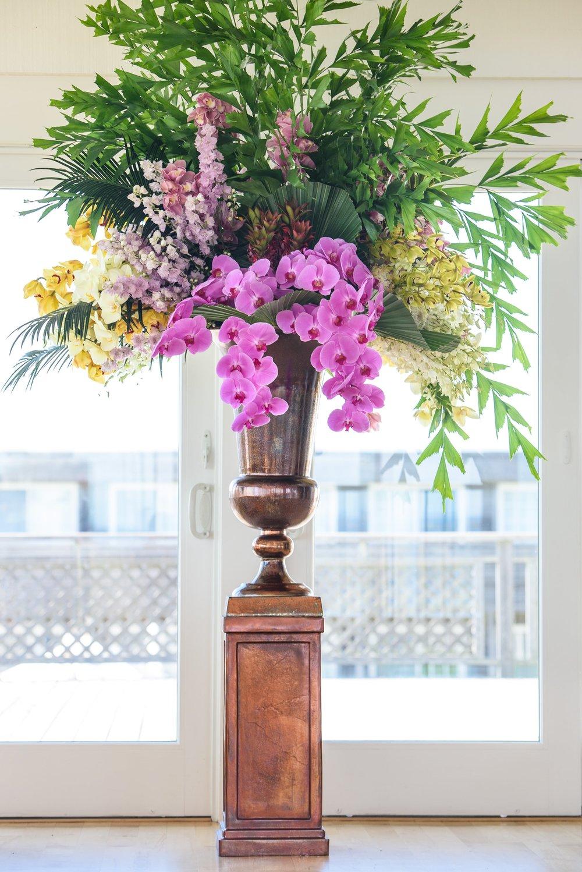 Robust Statement Piece- B Floral