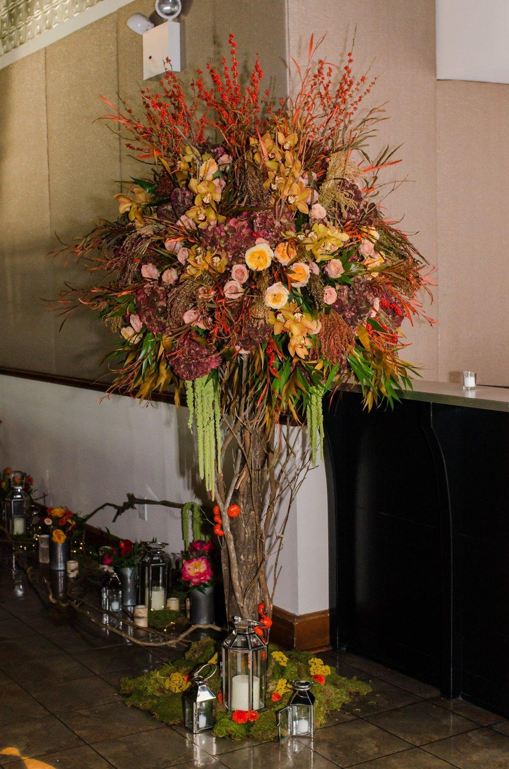 Dramatic Entranceway- B Floral