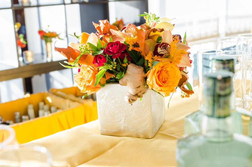 Bright Bar Arrangement- B Floral