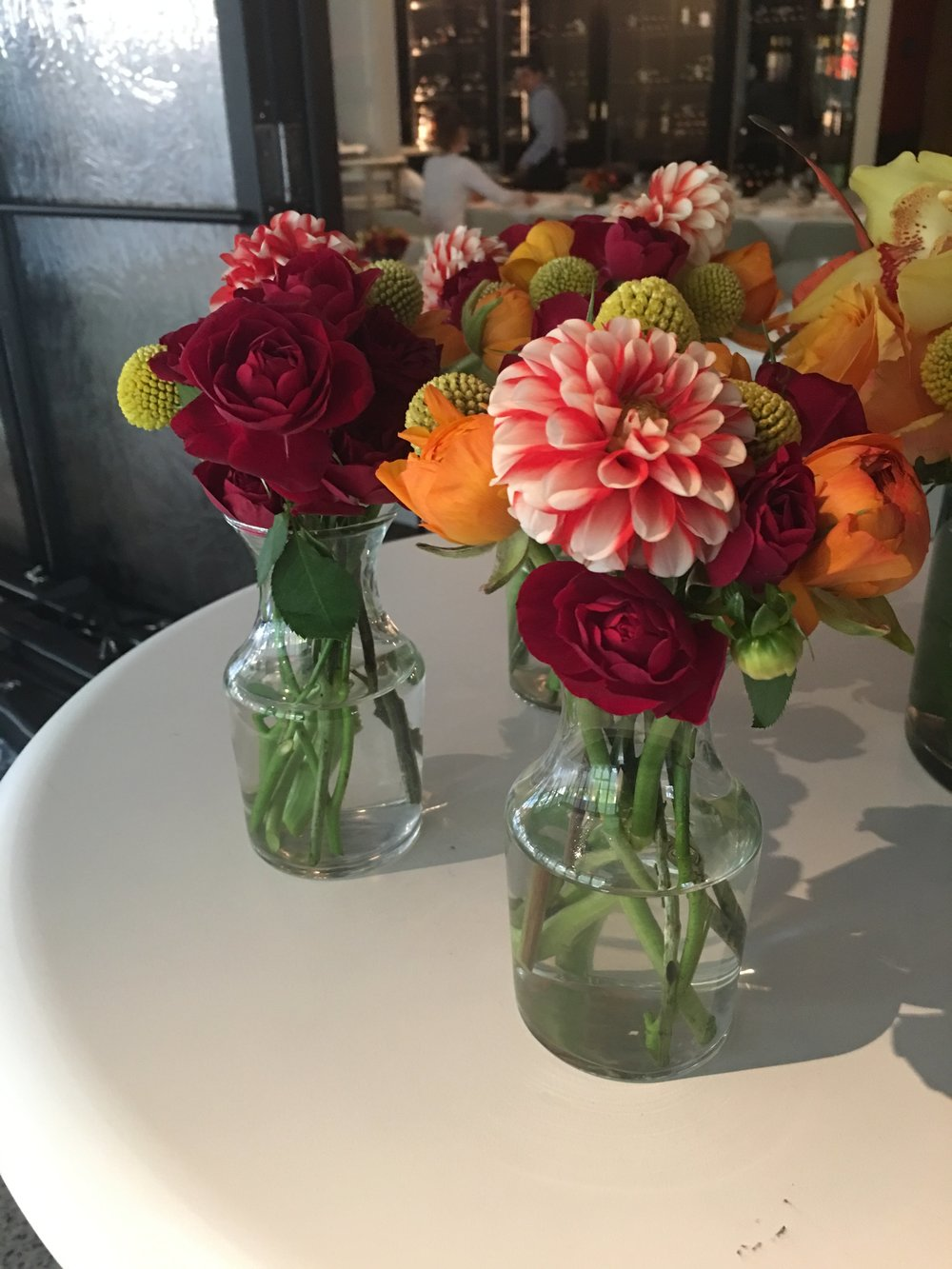 Fall Bud Vases- B Floral