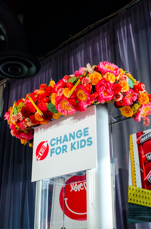 Change For Kids - B Floral