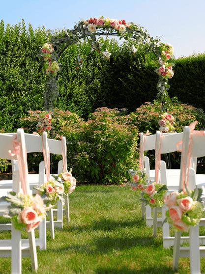 Floral Wedding Arch - B Floral