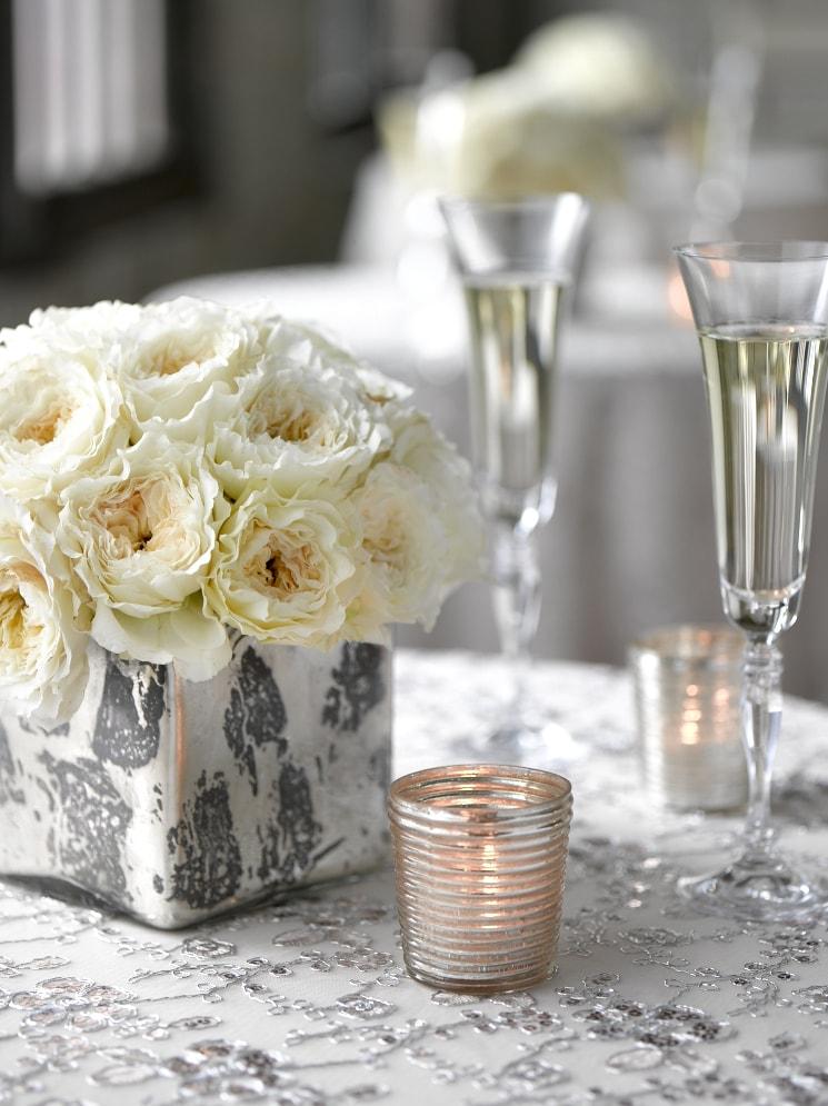 Silver Cocktail Arrangements- B Floral