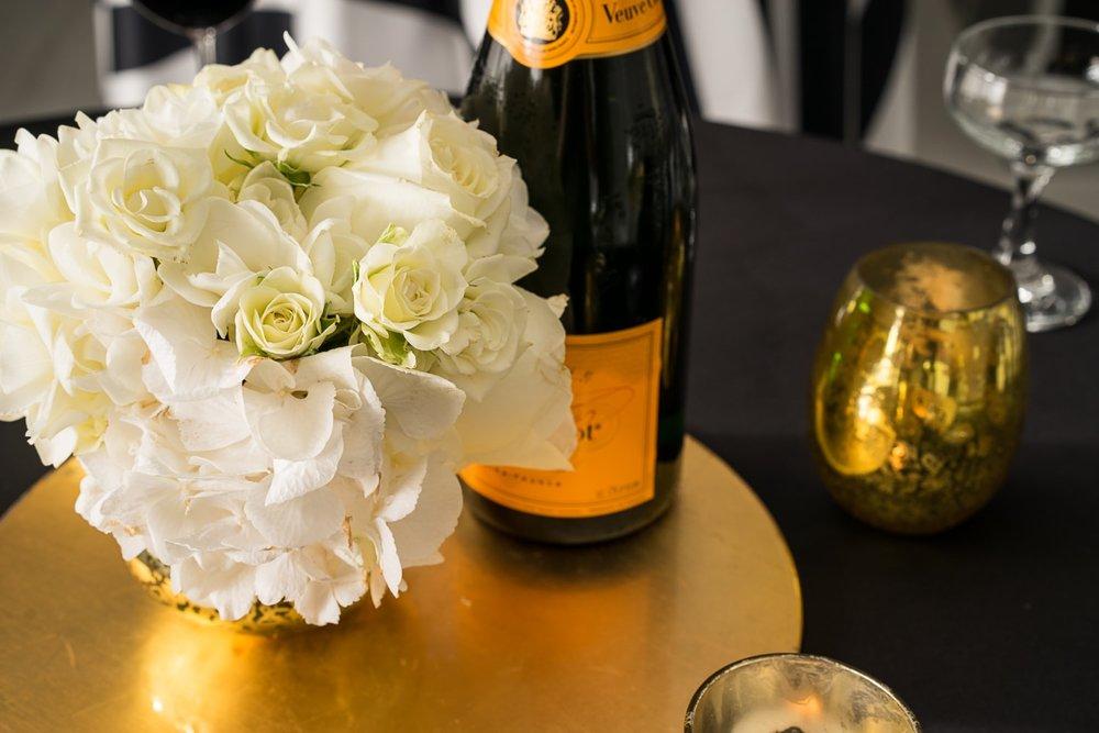 Florals & Champagne- B Floral
