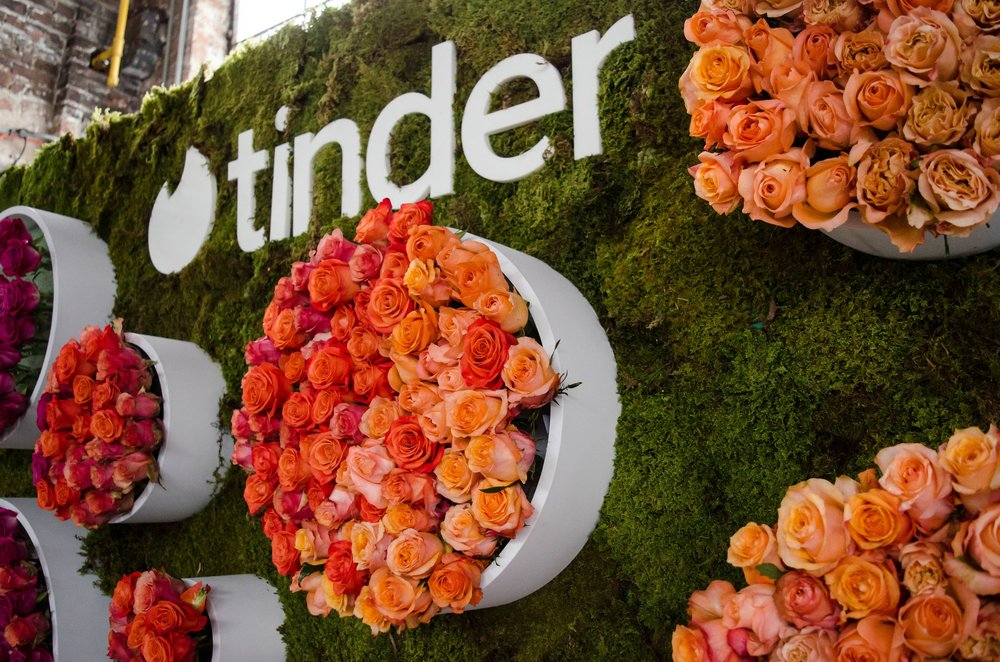 Tinder Floral Wall- B Floral