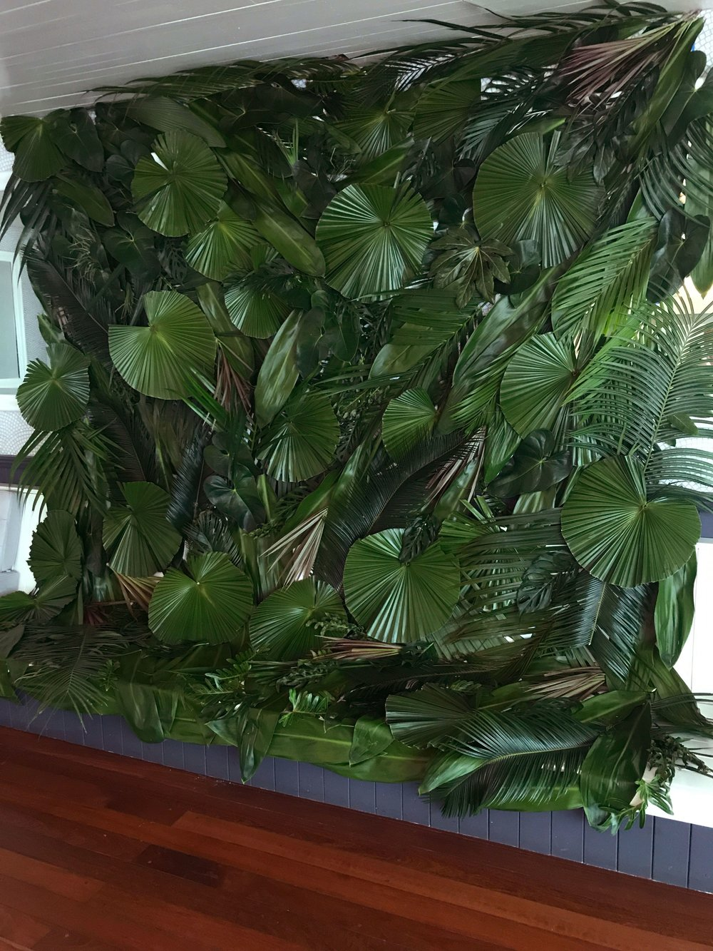 Tropical Leaves Wall- B Floral