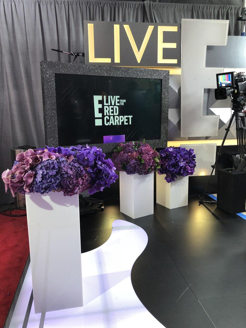 E! News Red Carpet Arrangements- B Floral
