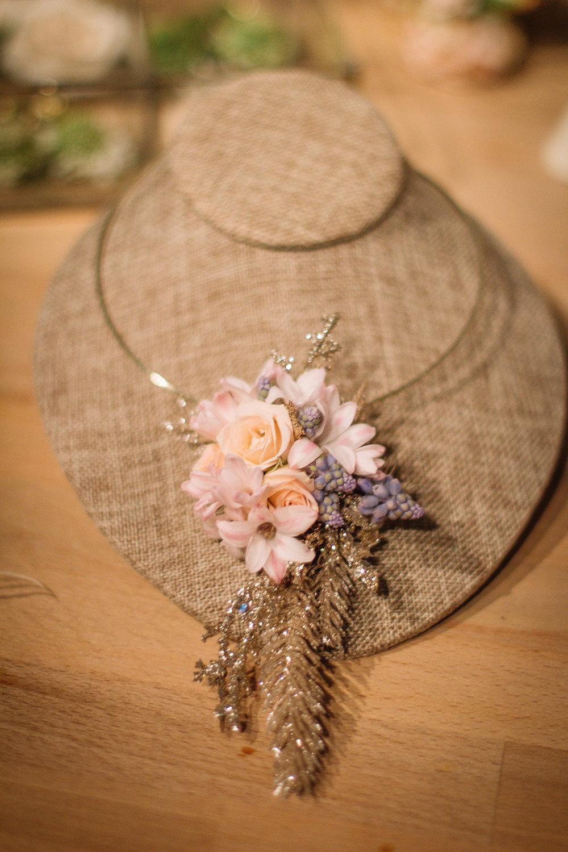 Fresh Floral Necklace- B Floral