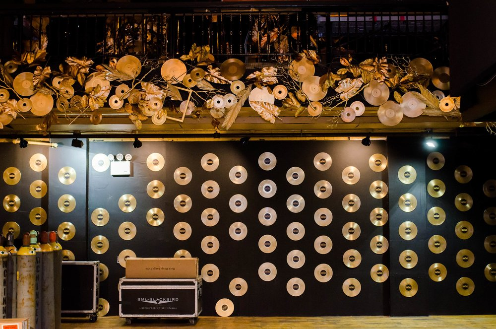 Cit Sound Vault Gold Accents- B Floral