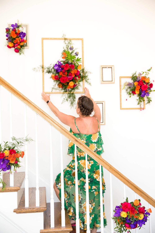 Floral Frames- B Floral