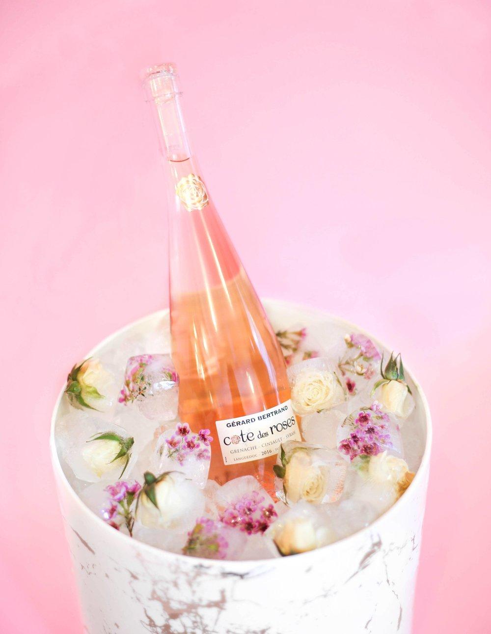 Flower Ice Cubes- B Floral