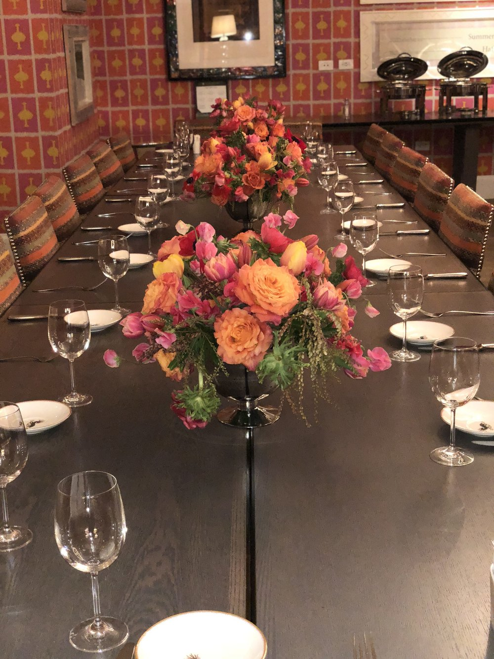 Sugarfina Brunch Table Runner- B Floral