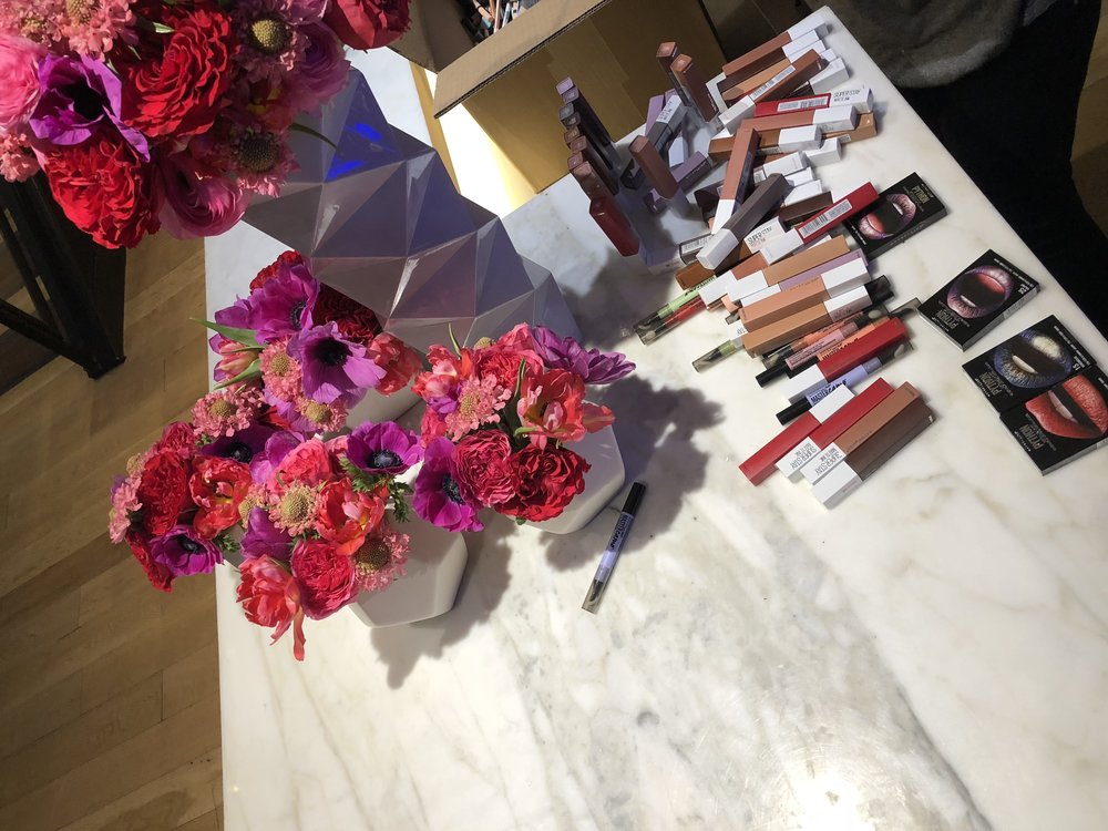 Make-up Prep for Maybelline NYFW Event- B Floral