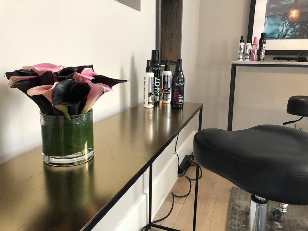 Hair Styling Bar Arrangement for Redken- B Floral