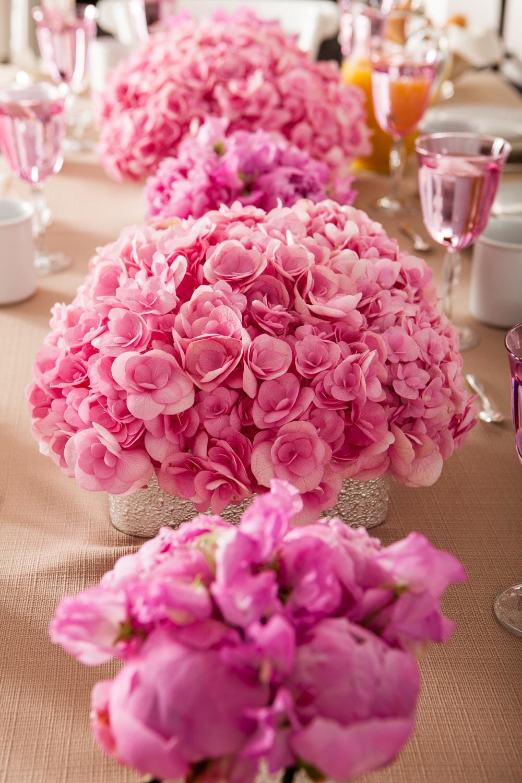 Bright Pink Hydrangea - B Floral