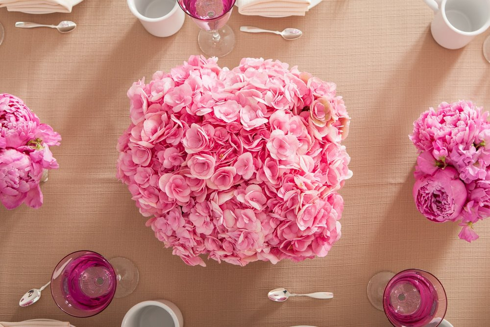 Hydrangea And Peonies - B Floral