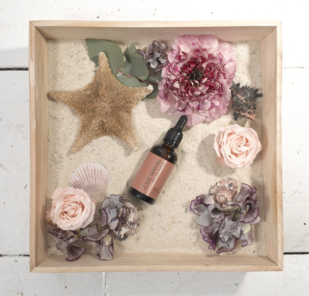 Josie Maran Cosmetics Product Display- B Floral