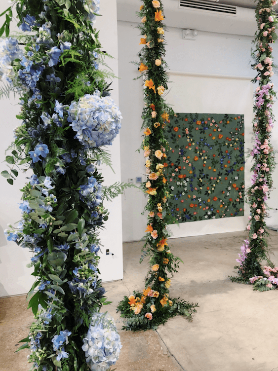 Colorful Greenery Garland- B Floral