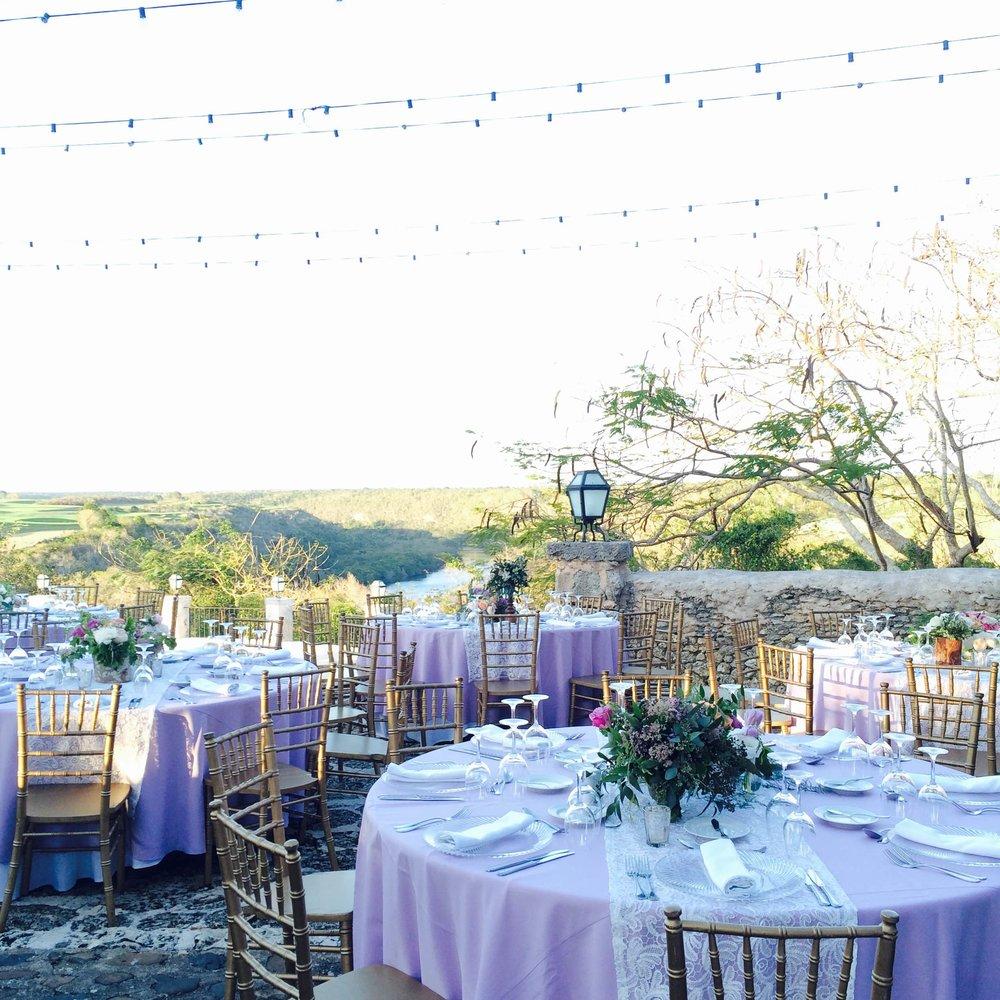 Lavender Tablescape- B Floral