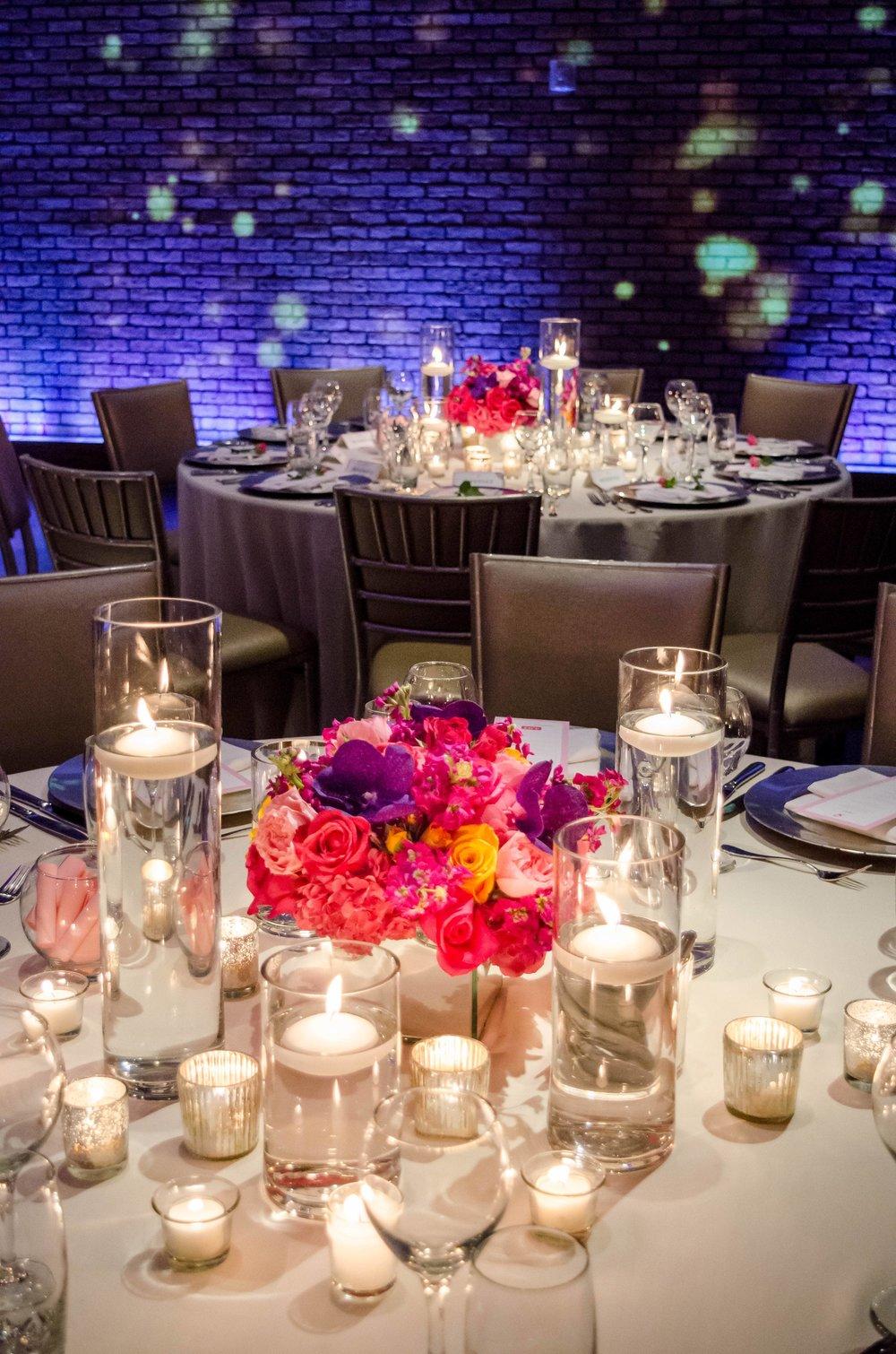 Bright & Bold Tablescape- B Floral