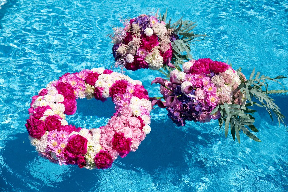 Floating Floral Rings- B Floral