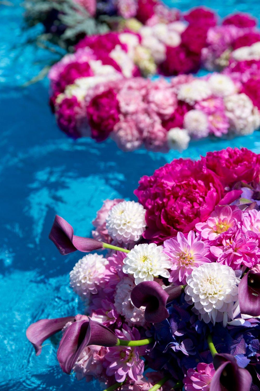 Floating Floral Rings Details- B Floral
