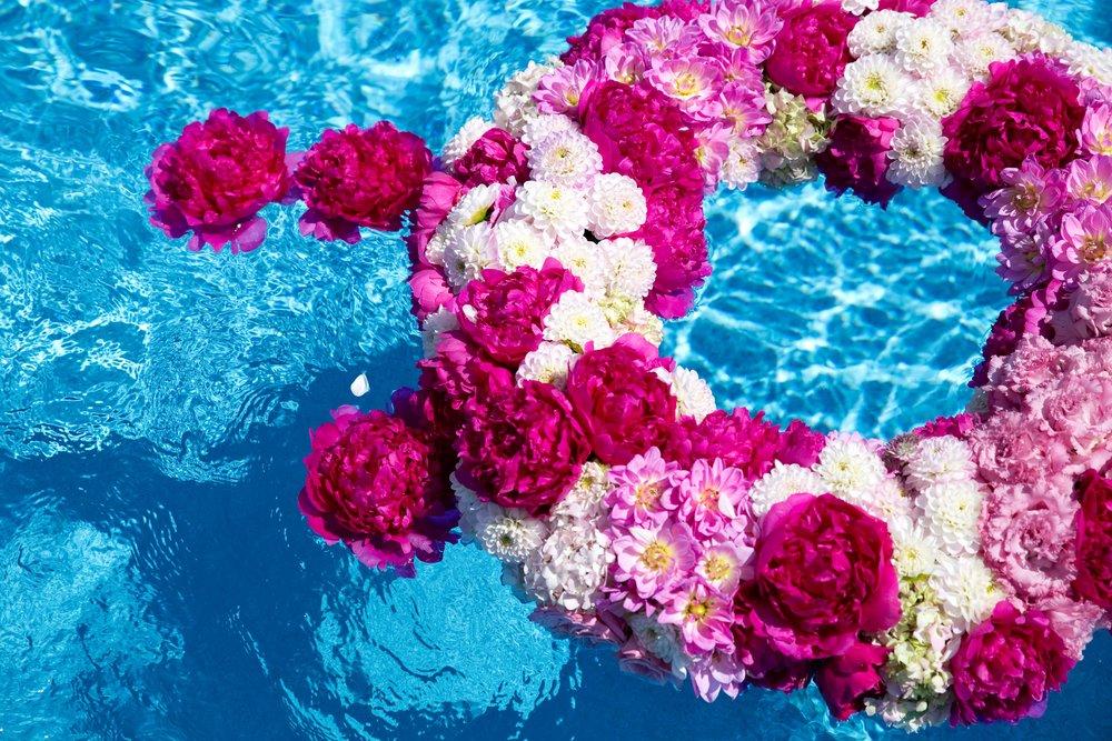 Floating Rings & Blooms- B Floral