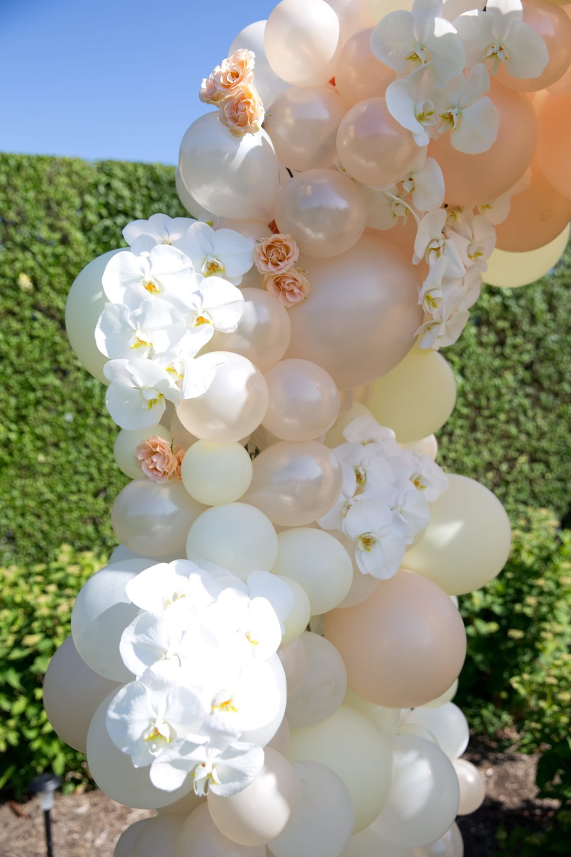 Floral Ballon Arch Details- B Floral