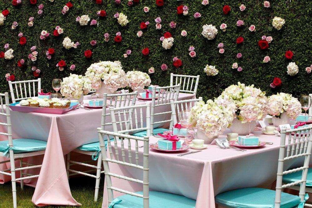 Floral Hedge Backdrop- B Floral