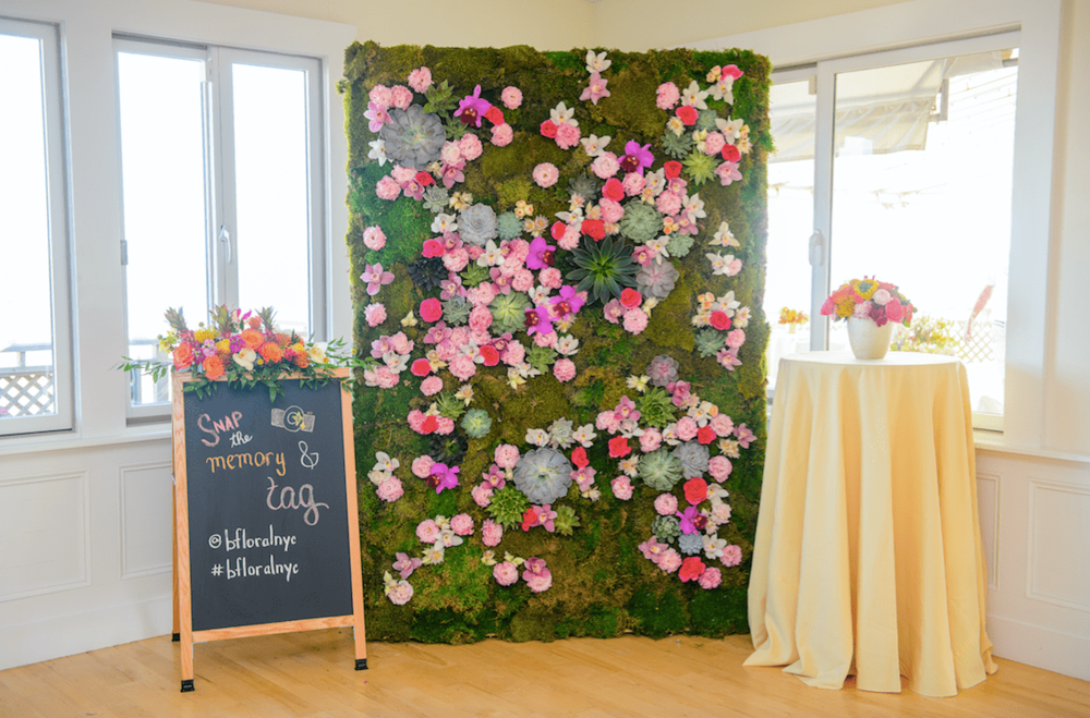 Summer Floral Wall - B Floral