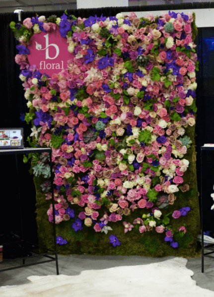 Rose Floral Wall - B Floral