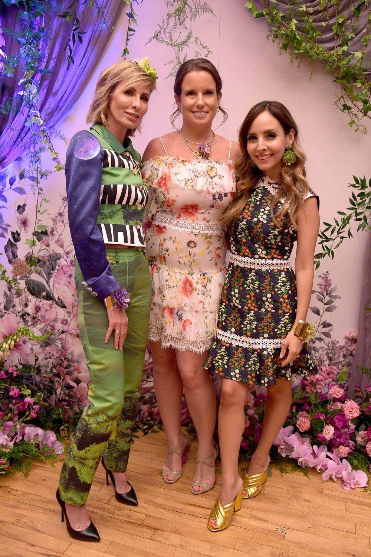 Bronwen Smith, Carole Radziwill & Lilliana Vazquez- B Floral