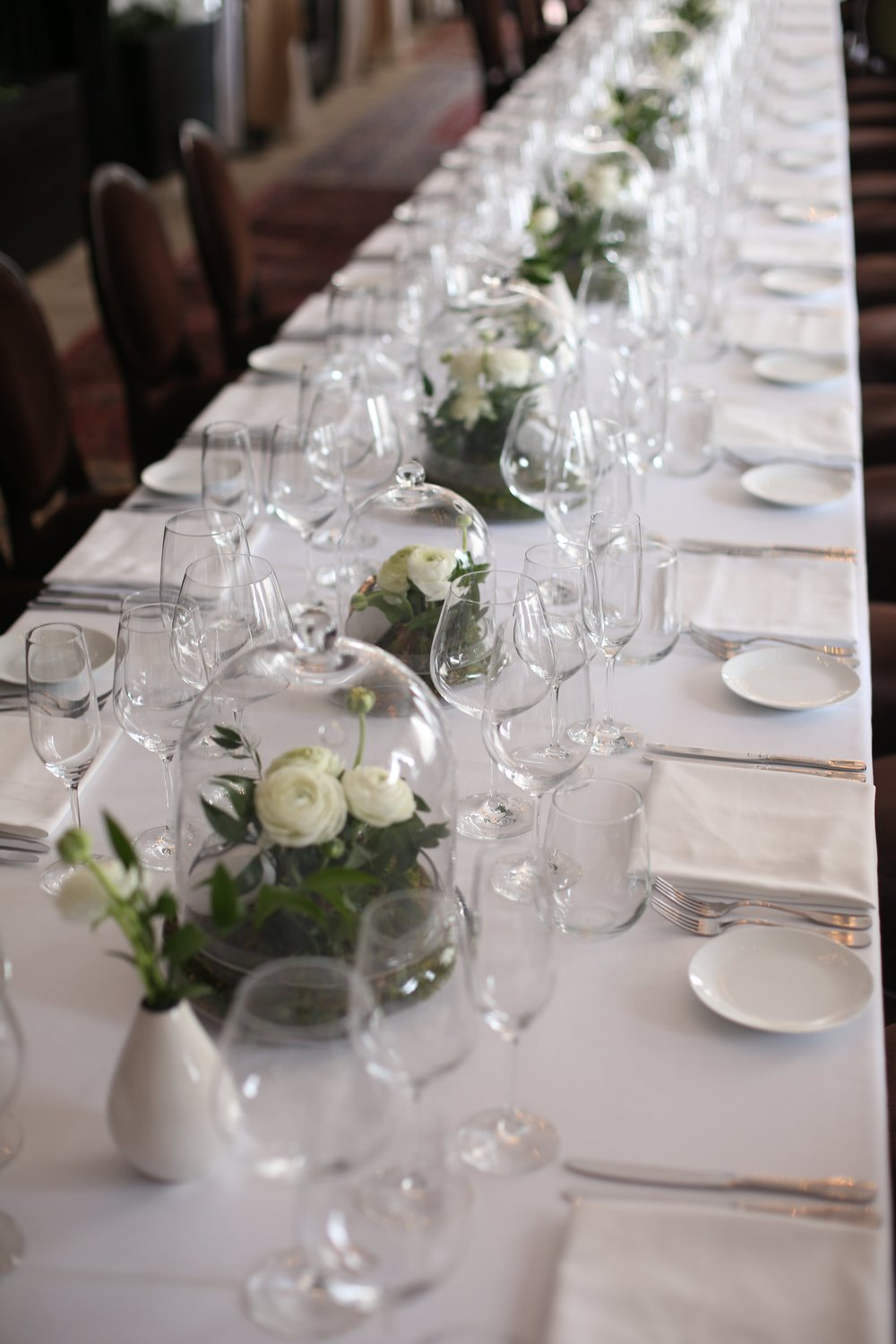 Natural Tablescape For A Timex Dinner- B Floral